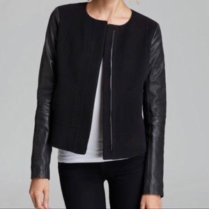 Vince wool/leather jacket